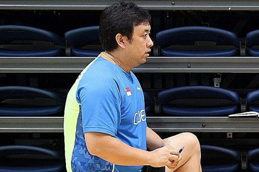 National singles coach Ding Chao has not renewed his SBA contract and will coach independently after his departure.