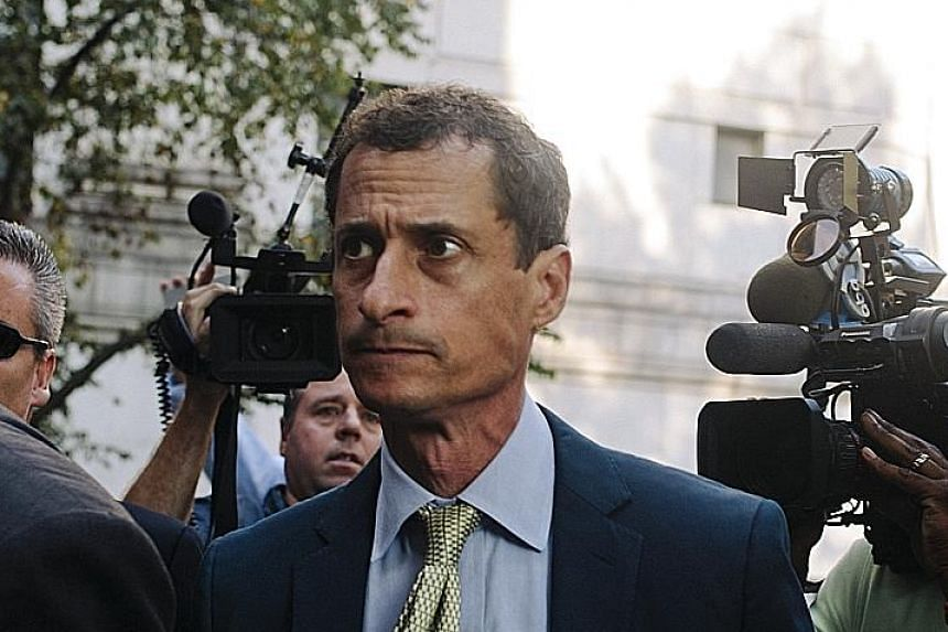 """Anthony Weiner was sentenced yesterday to 21 months in jail. In a letter to the judge, he said he felt """"profound"""" regret."""