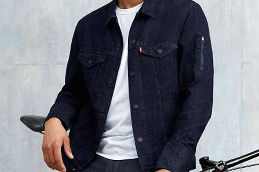 Google has teamed up with Levi's to make the world's first smart jacket aimed at urban bike riders.