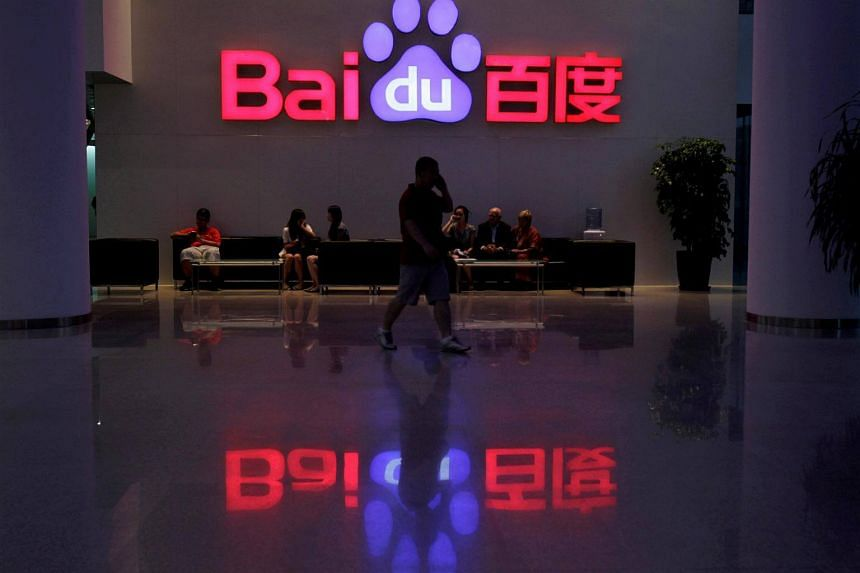 China has fined several of the country's biggest technology firms, including Baidu, for failing to remove illegal online content.
