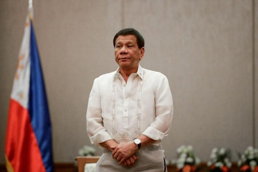 President Rodrigo Duterte was in the area at the time, but the head of his Presidential Security Group said he was far from where the incident happened.