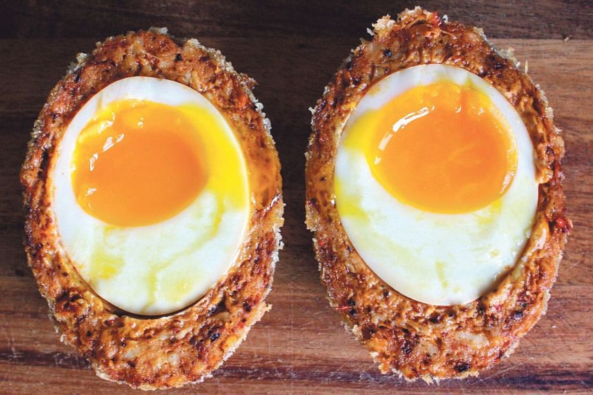 Crack's Otah Scotch Eggs.