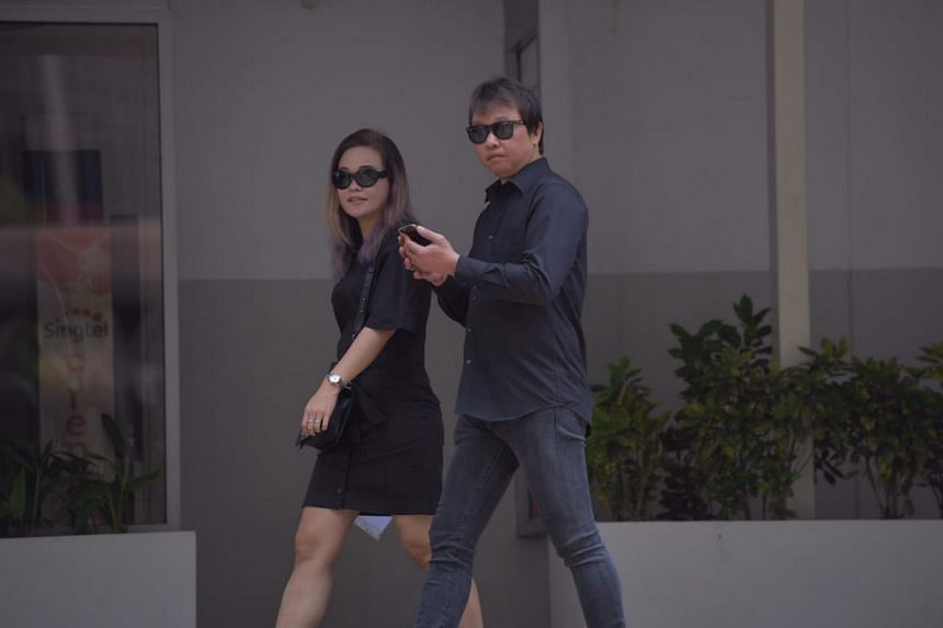 Larry Tan Chin Guan, who released three venomous motoro stingrays into Lower Seletar Reservoir on June 2, arriving at the State Courts on Sept 26, 2017.