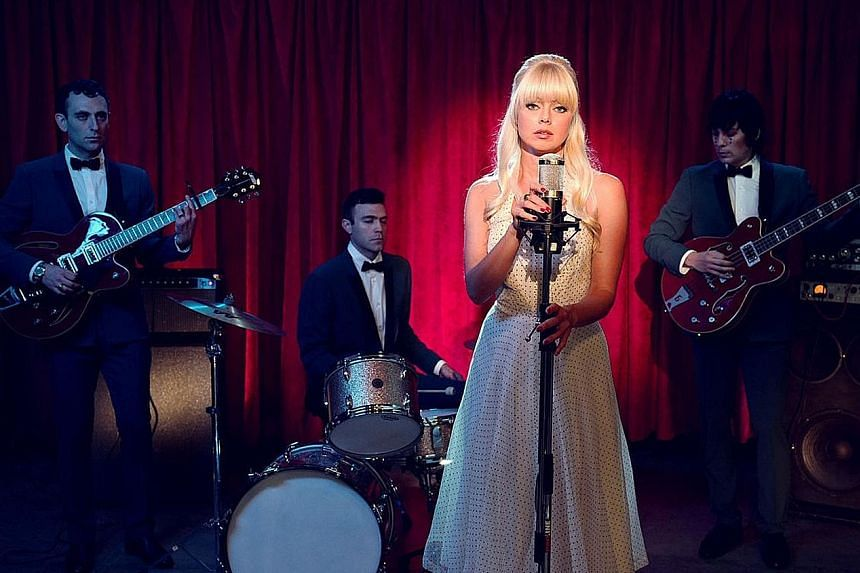 Chromatics are an electronic music band from Portland, fronted by singer Ruth Radelet.
