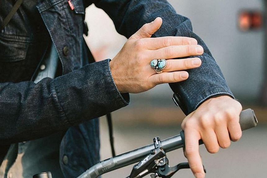 In a tie-up with Google, Levi Strauss has designed a denim jacket with a sleeve cuff made of special Jacquard fabric that synchronises wirelessly with smartphones.