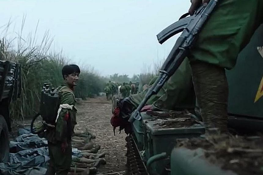 A screengrab from the trailer for Youth, a romantic drama set against the Cultural Revolution and China's war against Vietnam.