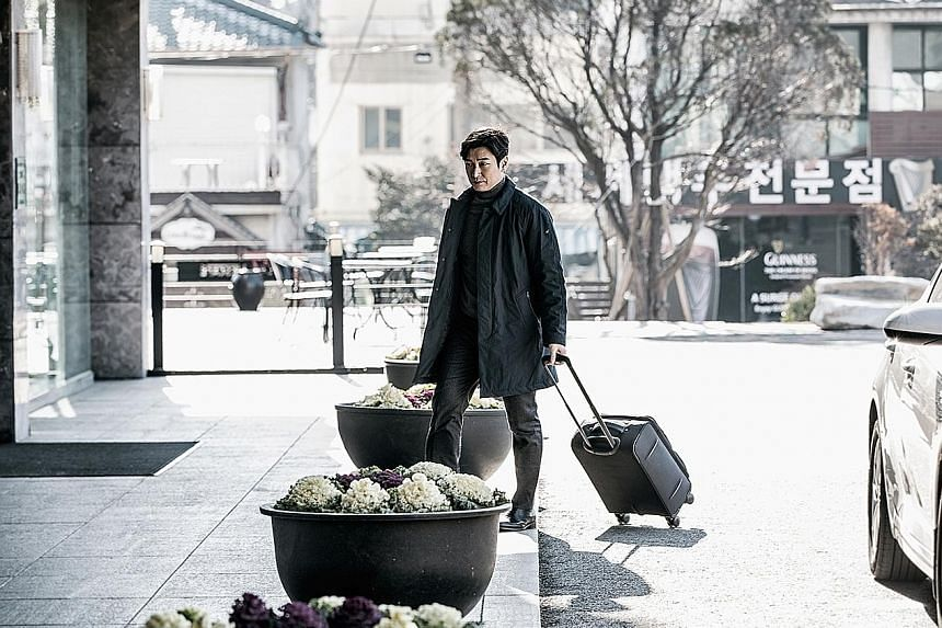 Cho Seung Woo plays an emotionless and socially inept prosecutor in Stranger.
