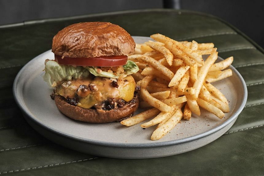 The bacon cheese burger offers a classic patty and bun combo which has the requisite juices.