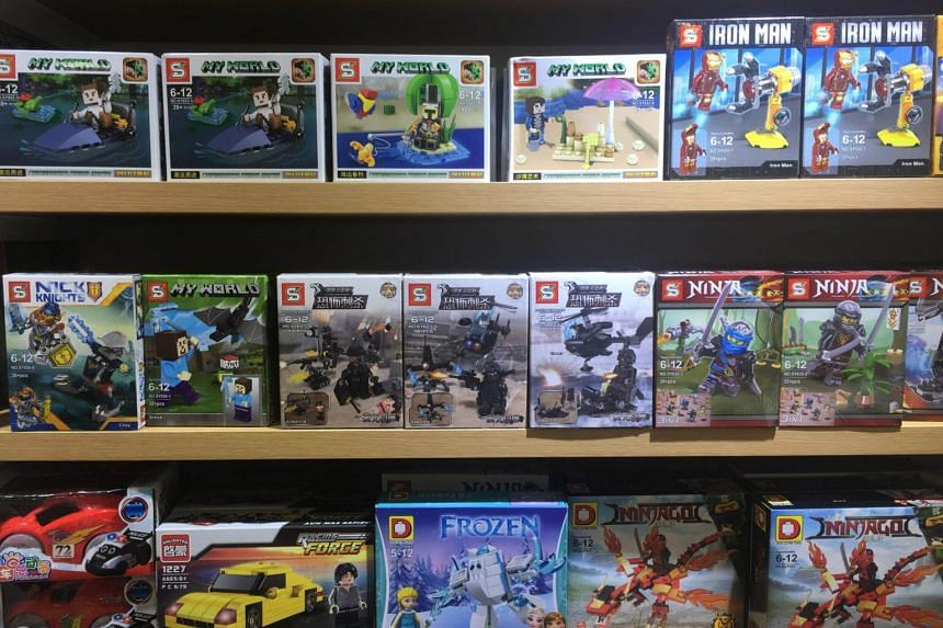 """Counterfeit Lego sets depicting ISIS militants, described as """"Falcon commandos"""", have been found on sale in local retail stores as well as online."""