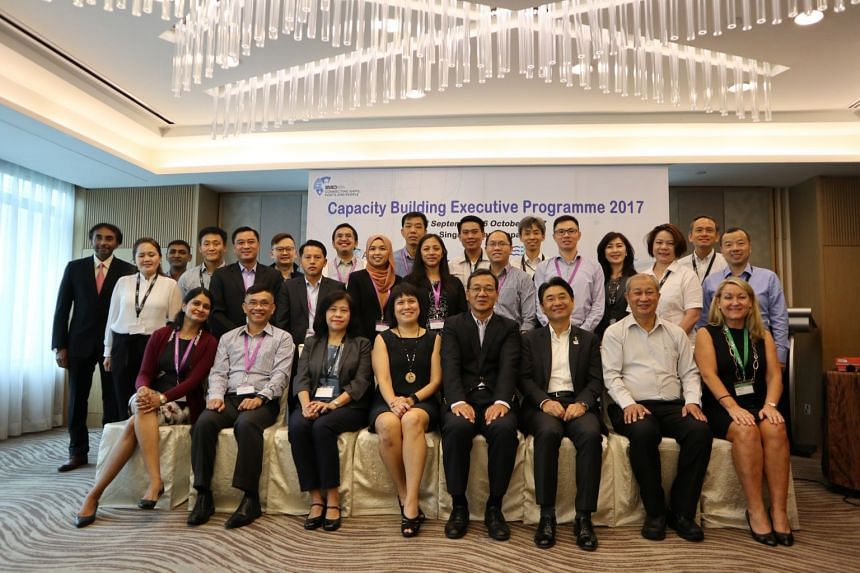 Participants, speakers and organisers of the Capacity Building Executive Programme, which will be held from Sept 27-Oct 6.