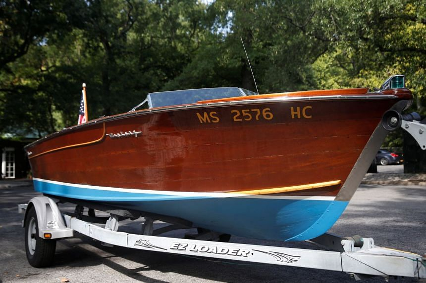 JFK's speedboat to be auctioned by Guernsey's as part of the John and Jackie Kennedy Pieces in honor of what would have been JFK's 100th birthday.