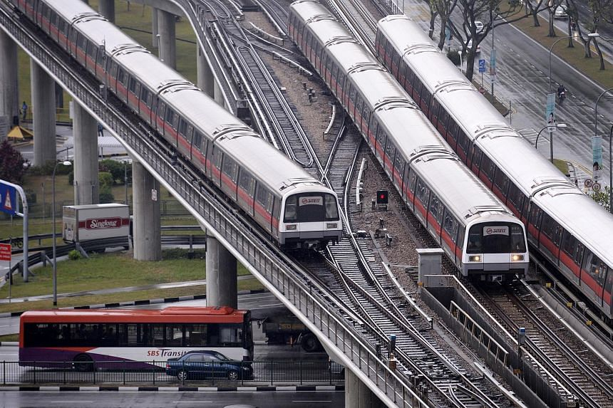 Customer satisfaction for the MRT system in July this year was found to be significantly lower relative to the preceding months of April, May and June.