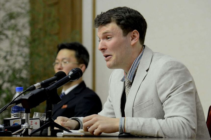 Otto Warmbier's (above) death was due to an unknown injury that occurred more than a year before his death.