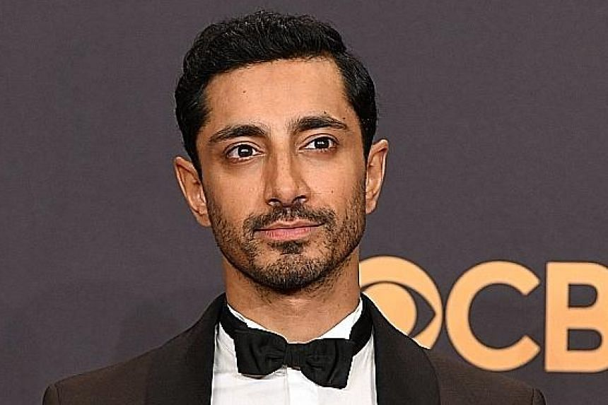 British-Pakistani actor Riz Ahmed