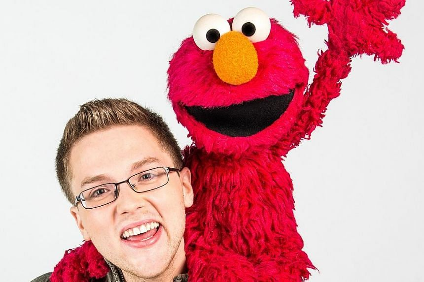 Ryan Dillon became a puppeteer to Elmo after he aced an audition in 2013.