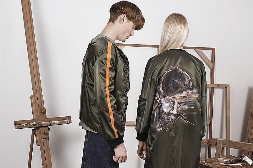 Home-grown fashion label Voltaire.Visions will collaborate with oil painter Simon Ng, who will paint portraits on its clothes.