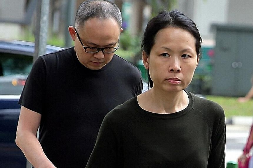 Lim Choon Hong and his wife Chong Sui Foon pleaded guilty in March last year to a single charge of starving their maid Thelma Oyasan Gawidan (left) over 15 months, causing her weight to plummet from 49kg to 29.4kg.