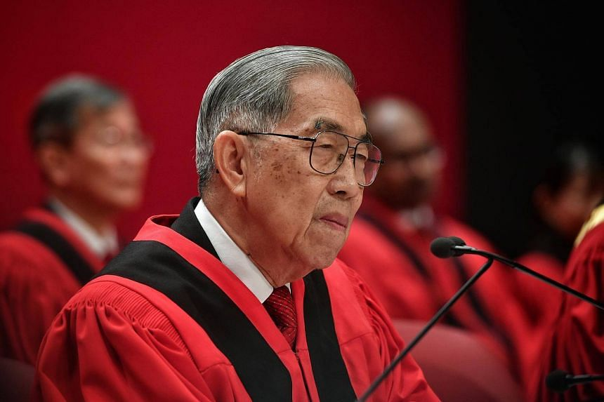 Justice Chao Hick Tin will be retiring as Judge of Appeal on Sept 27, 2017.