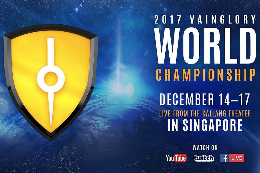 Singapore will play host to the second world championship finals for mobile game Vainglory in December.
