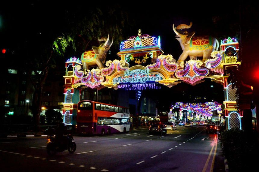 Birch Road and Burmah Road will be closed on three Sundays and on Deepavali Eve.