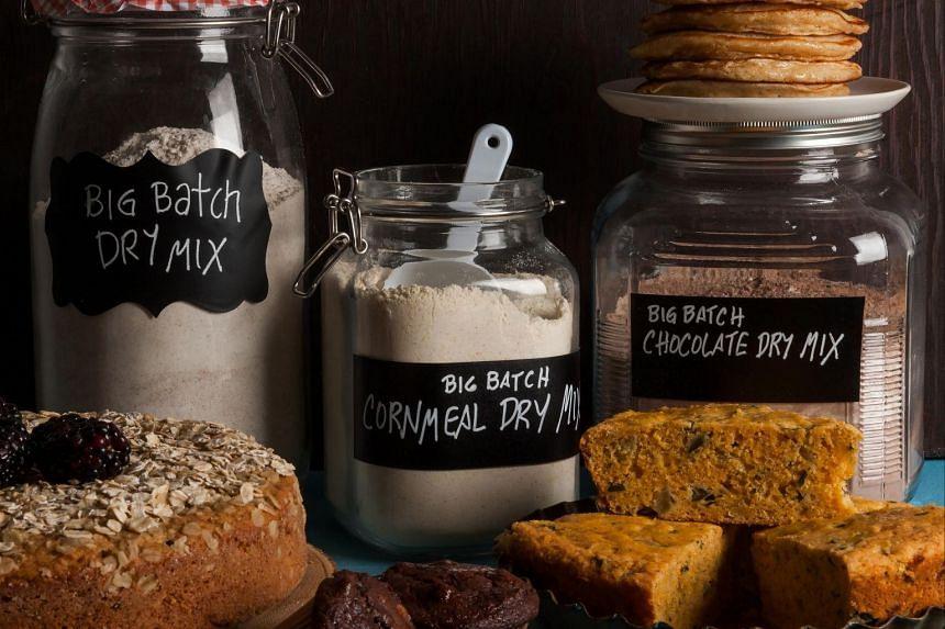 These three basic baking mixes will see you through both sweet and savoury bakes. PHOTO: GORAN KOSANOVIC