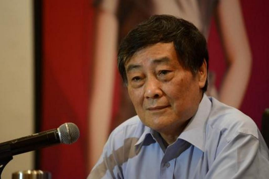 President of Wahaha company, Zong Qinghou attends a press conference in Beijing on July 17, 2013.