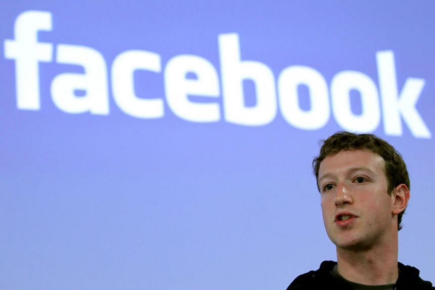 Facebook CEO Mark Zuckerberg at a news conference at the Facebook headquarters in Palo Alto, California, on May 26, 2010.