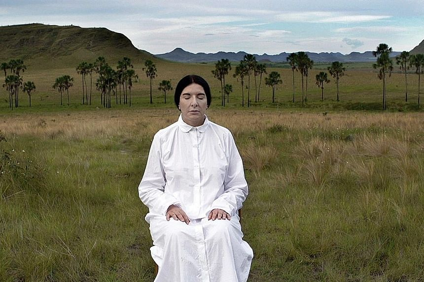The Space In Between - Marina Abramovic And Brazi