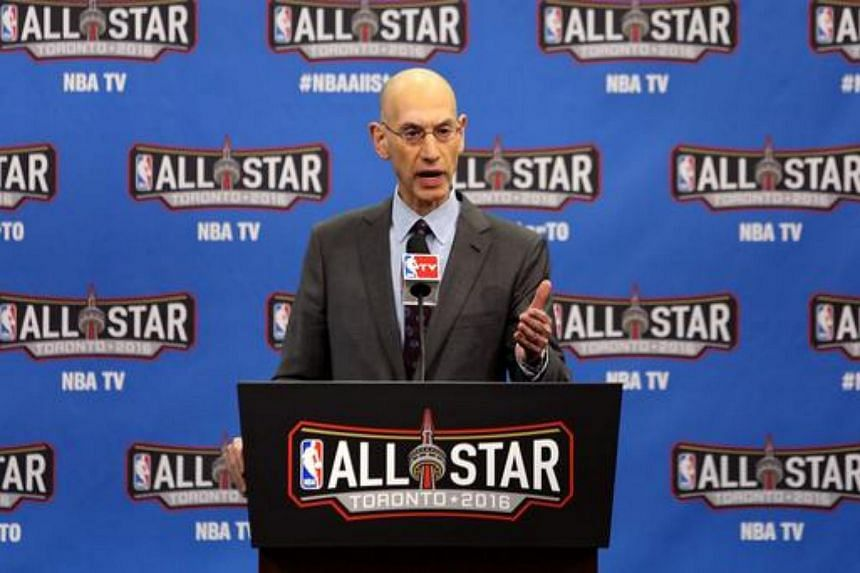 """NBA Commissioner Adam Silver did not say what would happen if any NBA players refused to stand during the """"Star-Spangled Banner""""."""