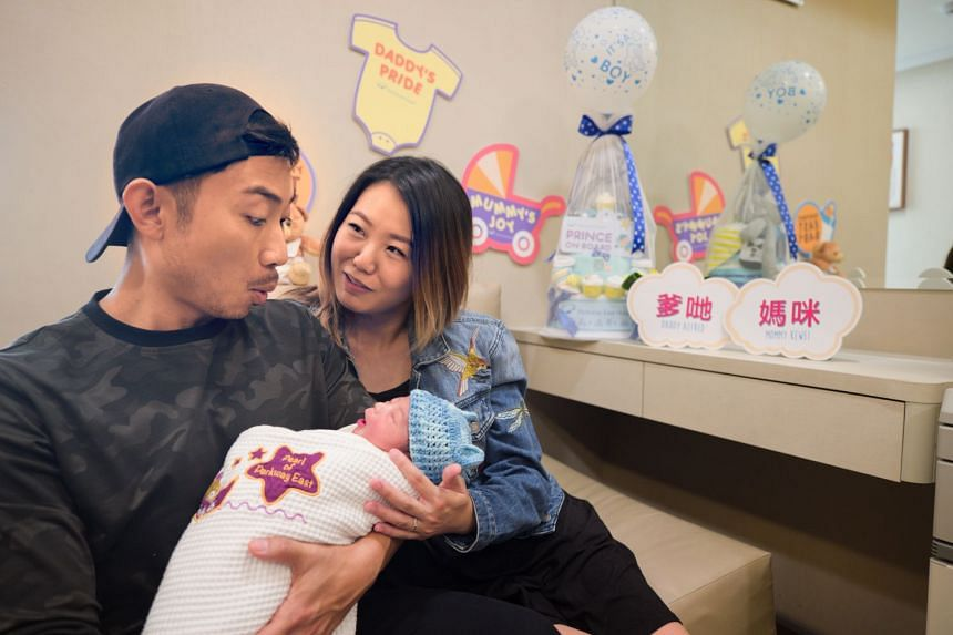Homegrown husband and wife singers Alfred Sim, 35, and Tay Kewei, 33, welcomed their first child on Wednesday (Sept 27) morning.