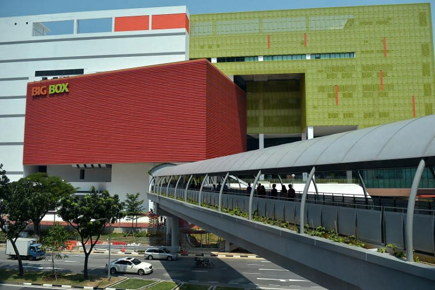 Big Box Pte Ltd (BBPL), which owns and operates the same-name 8-storey warehouse retail mall in Jurong East, received a letter in August from OCBC Bank with regards to a S$125 million loan facility granted in April 2013.