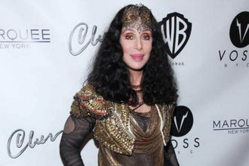 Cher attends Q Thursdays at the Marquee Club in New York City, on June 27, 2013.