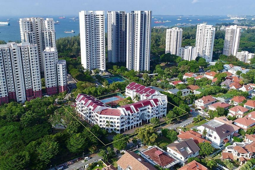 The freehold Nanak Mansions development in upmarket Meyer Road has been bought by an associate of UOL Group in a $201.1 million en bloc deal.