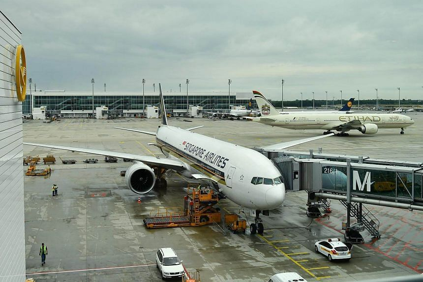 Major airlines around the world, including Singapore Airlines, were briefly hit by computer problems yesterday, causing some minor delays at airports, owing to a glitch with a system from Spanish travel technology firm Amadeus.