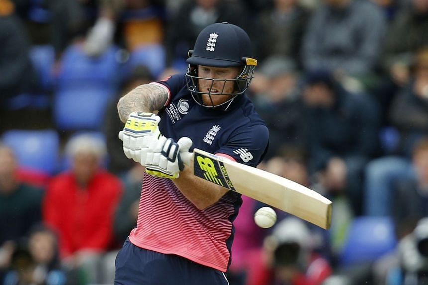 England star Ben Stokes in action during the 2017 ICC Champions Trophy Group A match, on June 6, 2017.