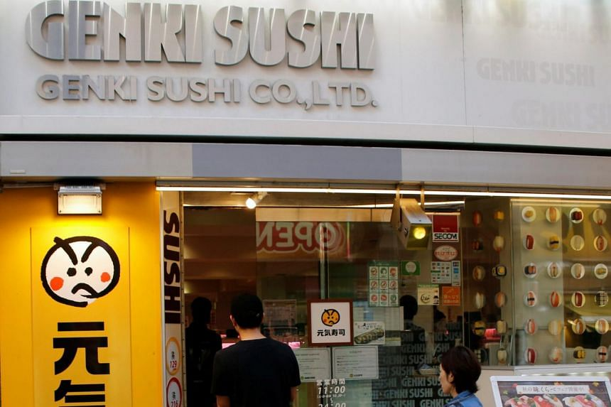 Genki Sushi is strong in eastern and northern Japan and has led peers in expanding abroad to locations such as Singapore and Hawaii.