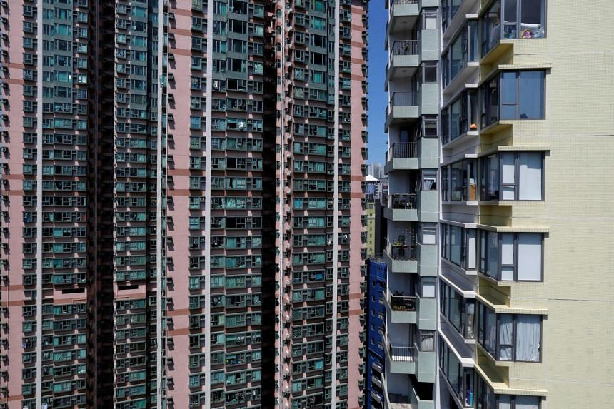 Private home prices climbed 18 per cent from a year earlier, according to data compiled by the Rating and Valuation Department.