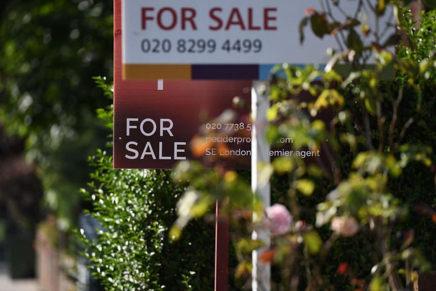 In a latest sign of the slowdown in Britain's housing market since last year's Brexit vote, Nationwide said prices in London fell by an annual 0.6 per cent this month.