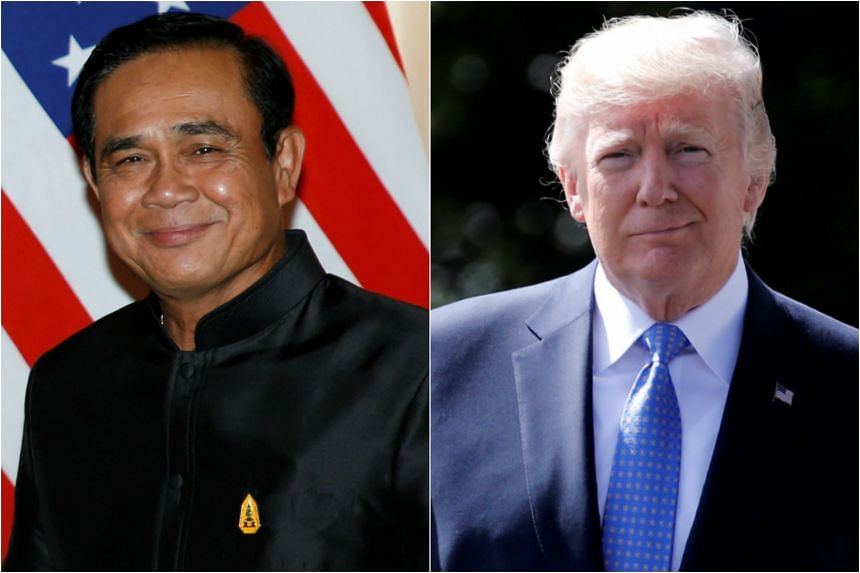 The White House meeting between Thai junta leader Prayut Chan-o-cha and US President Donald Trump will underscore Mr Trump's willingness to embrace authoritarian leaders and regimes at the expense of human rights concerns, rights groups say.