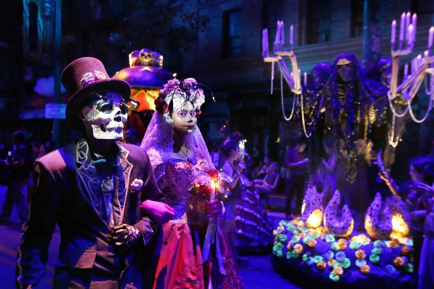 Universal Studios Singapore's Halloween Horror Nights 6 last year. The theme of this year's Halloween scare party is the seven modern-day deadly sins.