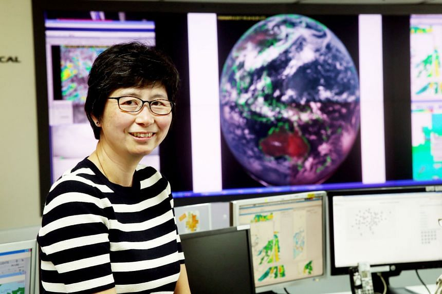 """Ms Patricia Ee, the director of weather services at the Meteorological Service Singapore, has been in the field for more than 20 years. She admits that even with all the advanced technology, weather predictions are not always spot on. But she said: """""""