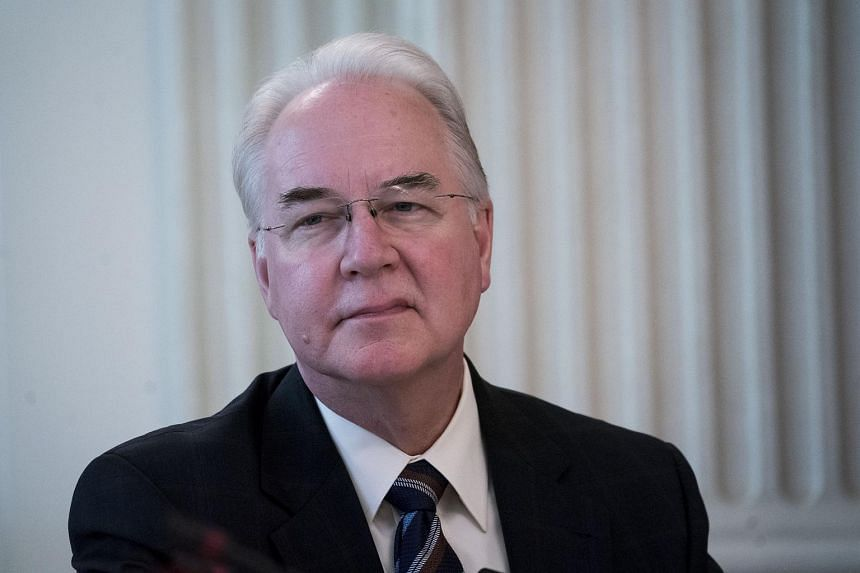 Health and Human Services Secretary Tom Price has flown on 26 separate trips this year on private aircraft, totalling some US$400,000 (S$543,300), according to Politico.