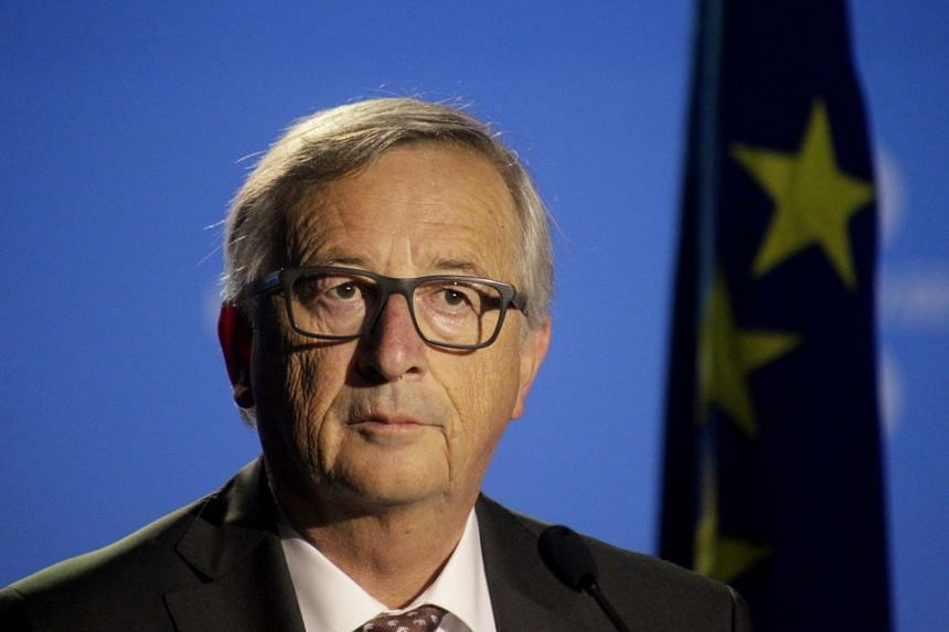 The new tax on digital multinationals will target revenue generated in an EU country, said Juncker (above).