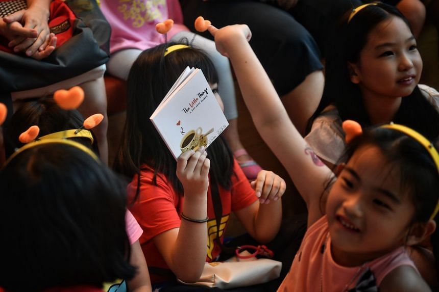The 64-page picture book, titled The Little Things, was launched by advisers to Tampines grassroots organisations Desmond Choo and Cheng Li Hui.