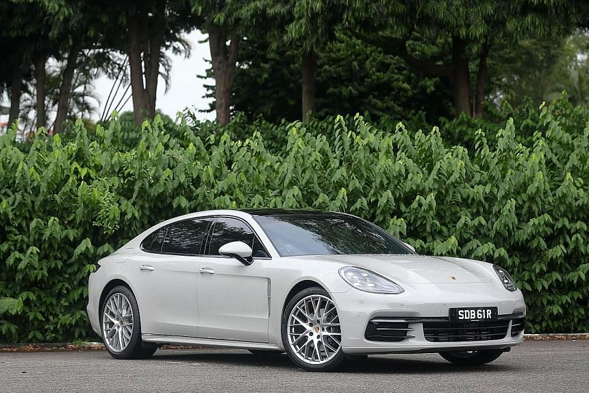 The Porsche Panamera Executive is a stretched version of the Panamera saloon, initially designed for the Chinese market. It has 150mm more space between its axles, giving it 3,100mm of stretching room.