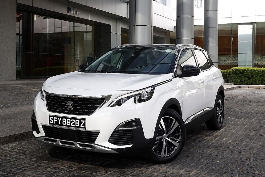 The petrol variant of the Peugeot 3008 has sharp steering and feels at ease with hard acceleration, braking and cornering.