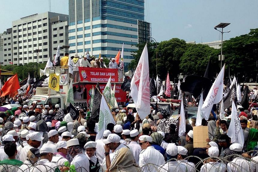 About 3,000 people attended an anti-communist rally in Jakarta yesterday. The organisers had expected 50,000 to show up. Observers said the poor turnout showed the Red scare seems to have little traction.