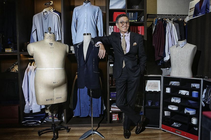 Mr Thomas Wong opened atelier cum workshop The Prestigious at Boat Quay in August last year, so he could impart his decades of experience to apprentices. The Singapore Retail Association said it picked The Prestigious for the Best New Entrant award a