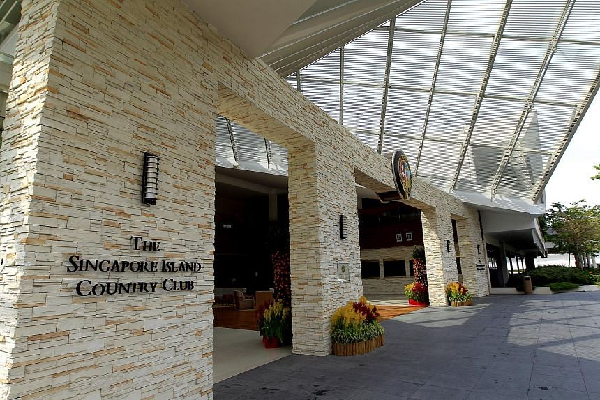 The Singapore Island Country Club has a membership strength of about 18,000 including registered spouses and children.