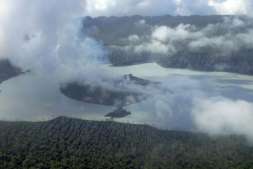 More than 6,000 people have already gone to emergency shelters on the South Pacific island.